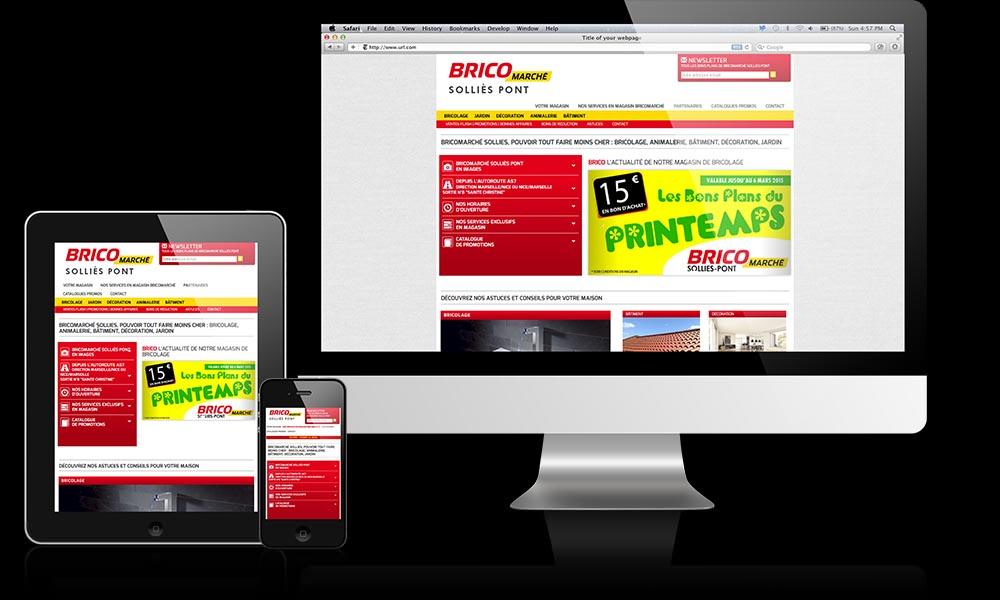 bricolage site internet